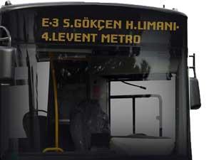 E-3 SABİHA GÖKÇEN H.LİMANI-4.LEVENT METRO